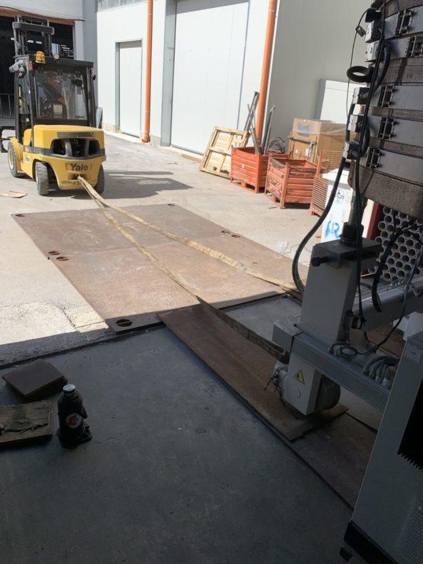 Movimentazione Interna Macchinari Industriali